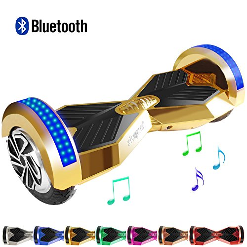 Hoverboard Self Balancing Scooter Skque 174 6 5 Quot Chrome Smart Two Wheel Self Balancing Electric