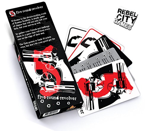 Card Games, Five Round Revolver - Best Card Game By Rebel City Games